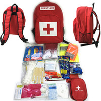 Emergency Preparedness Earthquake Disaster Survival Kit First Aid Backpack