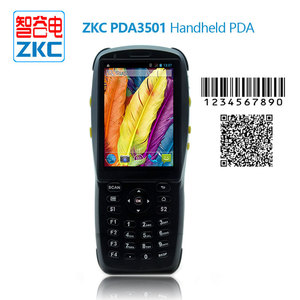 Android handheld mobile computer with barcode scanner with HF RFID reader support Bluetooth WIFI GPRS