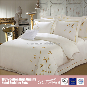 100% Cotton Embroidery Design Bed Cover Sets,Wholesale Hotel Bedding Set  Tencel Fabric - Buy Embroidery High Quality Bedding Set,Cotton Quilted ...