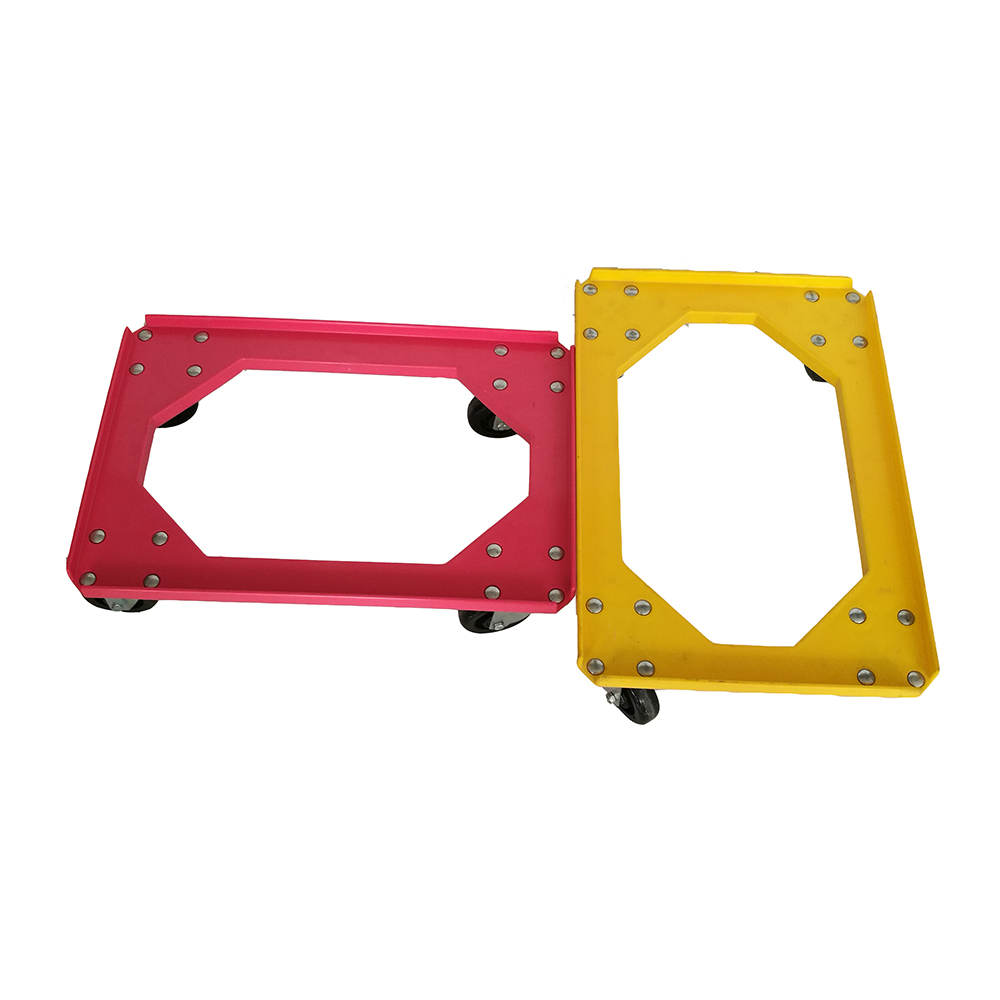 Heavy Duty Collapsible Plastic Wheel Moving Dolly - China