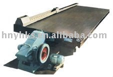 table concentrator for beneficiation minerals
