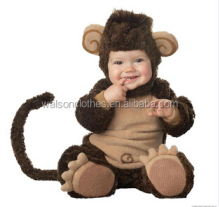 2015 Newest Baby Animal Monkey Halloween Costumes
