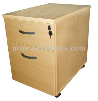 2 Drawers Movable File Cabinet