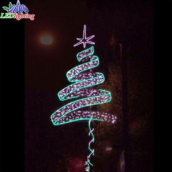 Decoración De Calle Llevada Para La Columna Luz Decoraciones De Navidad Polo Buy Decoración De Calle Llevada Para La Columna Luz Decoraciones De