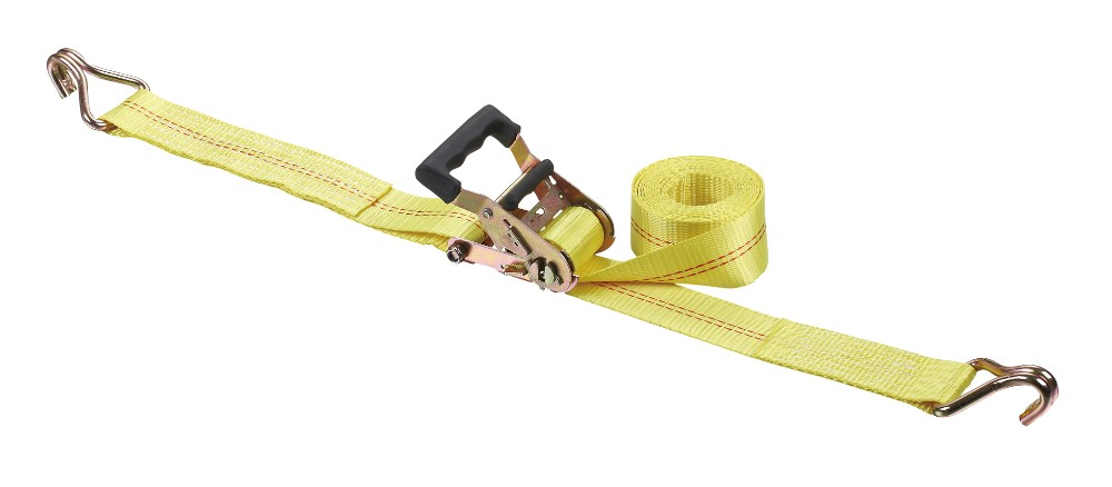 "2""/11000lbs high quality cargo lashing belt/ratchet tie down with sot handle"