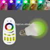 Low energy cost 6W RGBW Smart wireless controll LED Light Bulb