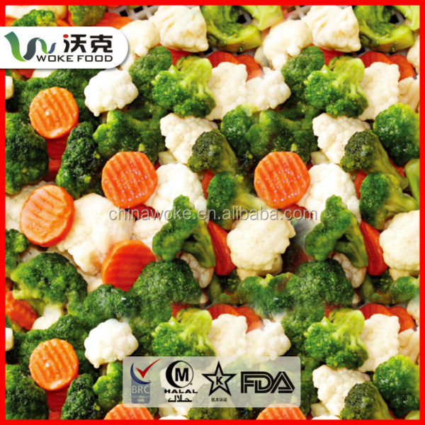 Frozen oriental california frozen mix vegetable