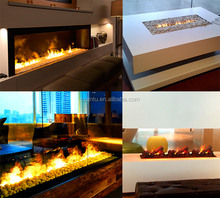 Modern fake flame decor 3D steam electric fireplace