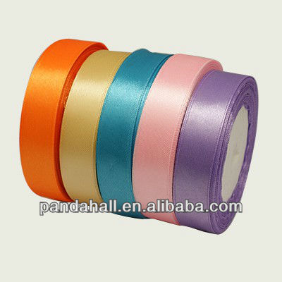 "1/2"" Mixed Color 12mm Satin Ribbons Wholesale"