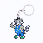 Desent Custom rubber pvc keychain 3D Logo tyre shaped key chain 3D soft pvc keychain