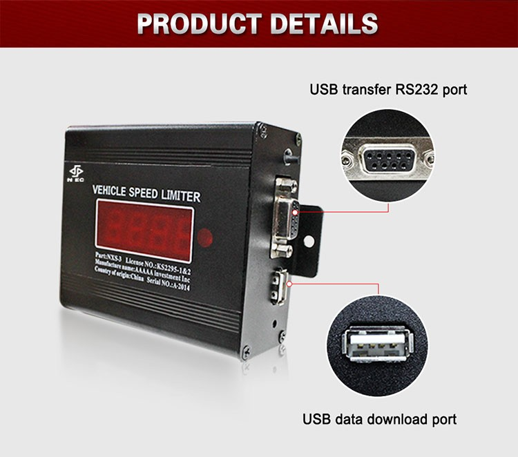 Car speed control devices gps tracking system over speed limiter electronic Vehicle speed governor