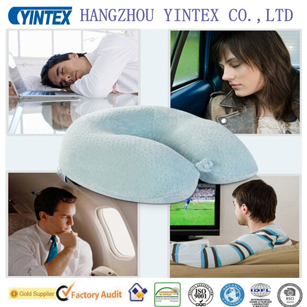 Yintex-Dyed Soft Memory Foam U Shape Pillow