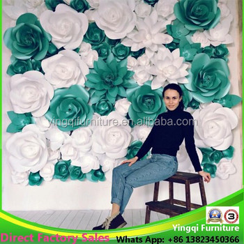 Wholesale giant paper flowers for wedding wall decoration buy wholesale giant paper flowers for wedding wall decoration mightylinksfo