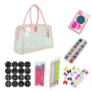 Nail Art Pen Kits Girls Nail Beauty Gel Polish Colour Kit Buy Gel