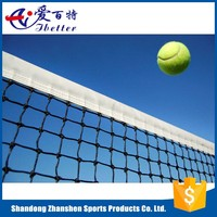 high quality and durable PE braided tennis net for training