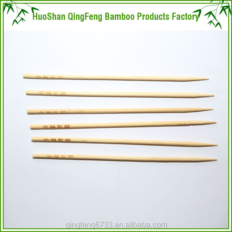Wholesale healthy disposable bamboo bbq skewer