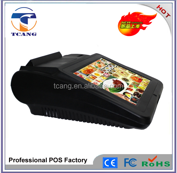 12 Inch Pos Machine For Public Transportation Payment System