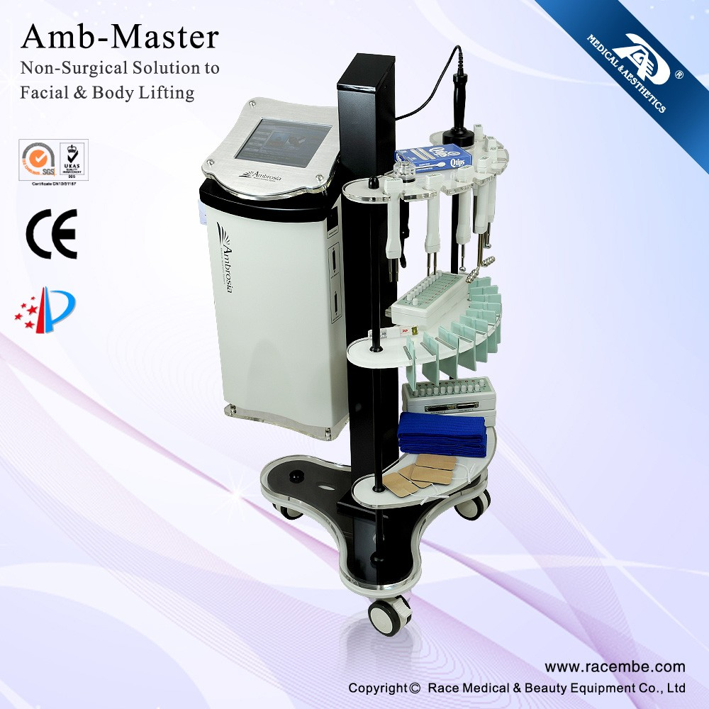 Amb-Master RACE multifunctional microcurrent face lift machine (CE,ISO13485)