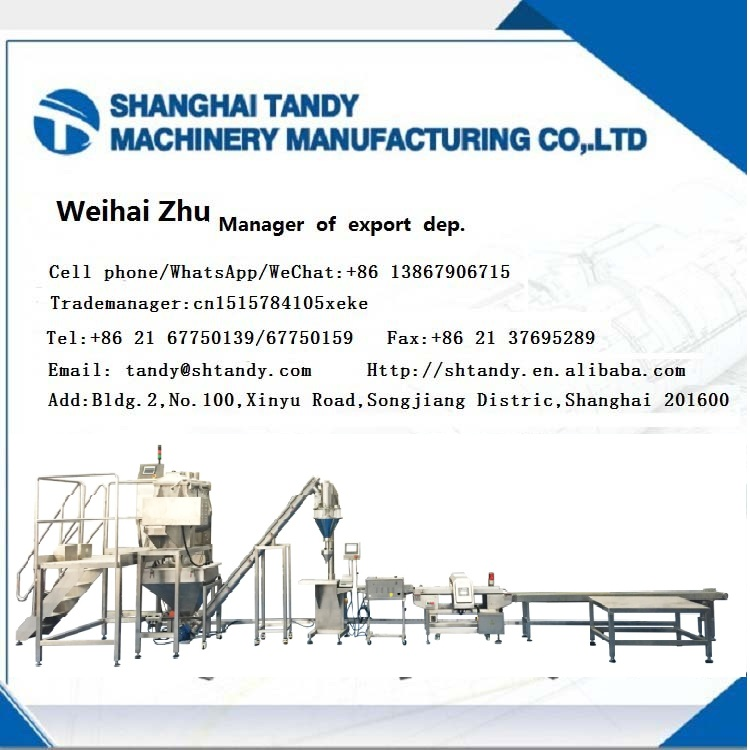 Shanghai manufacturer SS304 horizontal paddle mixer single shaft mixer