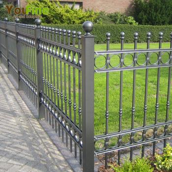 Garden Supplies Metal Wrought Iron Fencing Whole