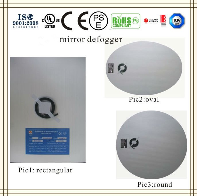 Luxury Hotel Bathroom Mirror Defogger,Mirror Demisting Pad,16years Supply  For Hotels   Buy Mirror Defogger,Electric Defogger,Bagen Bath Mirror  Defogger ...