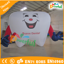 Giant outdoor inflatable advertising cartoon for promotional display