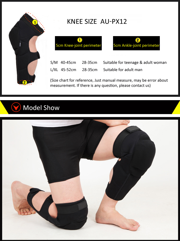 Comfortable long knee support 9