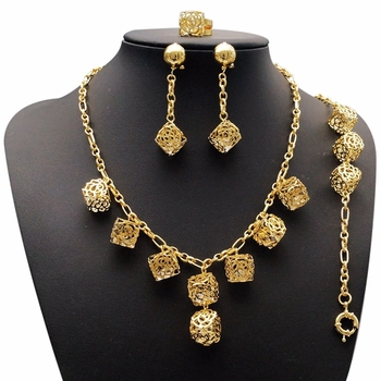 Gold Allah Pendants Bridal Jewelry Sets Industrial Pendant Arabic