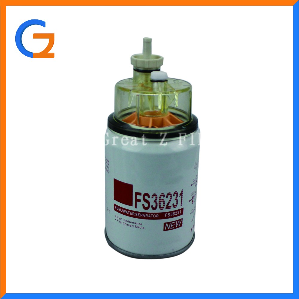 Types Of Fuel Filter Fs36231 Fuel Water Separator Filter