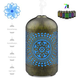 Metal cool mist diffuser ultrasonic diffuser essential oil scent air diffuser