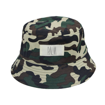 wholesale custom camo orange football folding reversible outdoor sun bucket  hat e26950b68c23