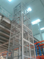 Warehouse used vertical platform lift