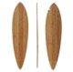 wholesale Longboard deck shape pintail maple or bamboo deck OEM