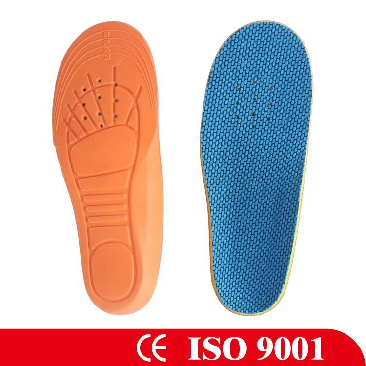 Arch Support EVA Kids Orthotic Insole Comfort Deodorant Kids Orthotic EVA Insole
