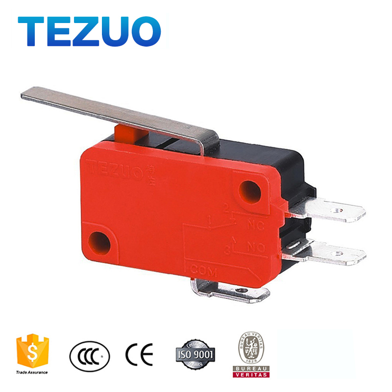 TEZUO Waterproof and oilproof long life lever micro switch