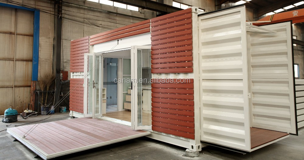 Prefab Tiny Home/French Granny Tube/20 Feet Container House/Mobile Homes Folding