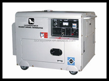 4.6KW AVR silent diesel generator with ATS, OHV, dual voltage