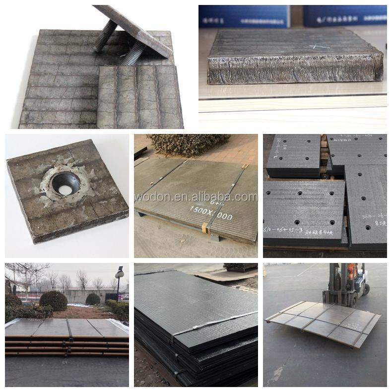 Concrete Pump Cco Bimetal Welding Wear Plate Steel Sheet - Buy Steel  Sheet,Wear Plate,Welding Plate Product on Alibaba com