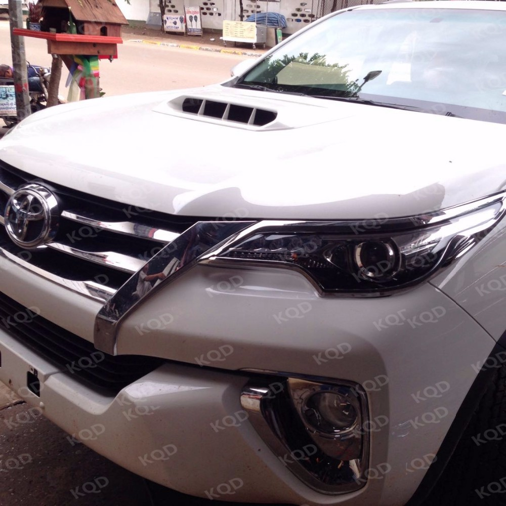 Car Chrome Front Grille Trims For Toyota Fortuner Grille ...
