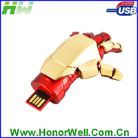 hotselling products on alibaba robot hands usb flash drive 16gb 32gb 64gb