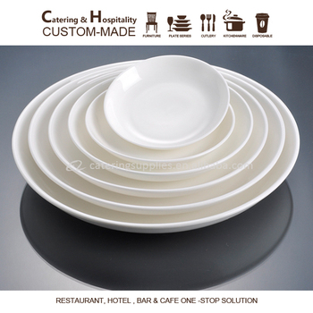 cheap bulk Wholesale white ceramic porcelain restaurant dinner plates & Cheap Bulk Wholesale White Ceramic Porcelain Restaurant Dinner ...