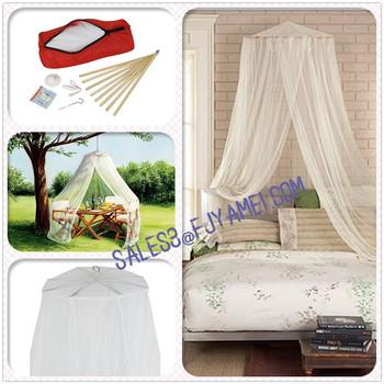 Zanzariera X Letto Matrimoniale.Naturale Di Bambu Zanzariera Per Letto Matrimoniale E Il Campeggio