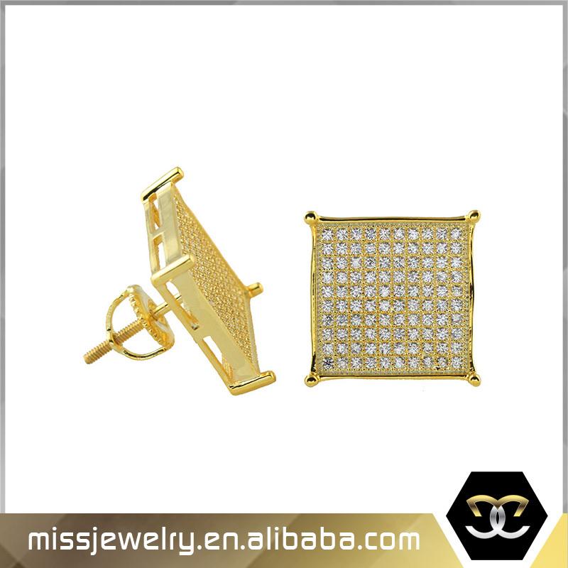 Missjewelry Hiphop Style Dubai 24k Gold Jewelry Micropave Screw ...