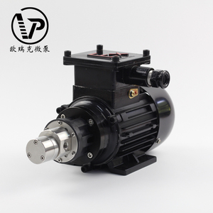 Magnetic Drive Gear Pump For Metering Flammable And Explosive Liquids Such