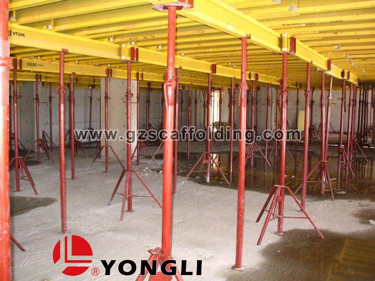 Pole Shoring Jacks : China manufacturer concrete scaffolding adjustable prop