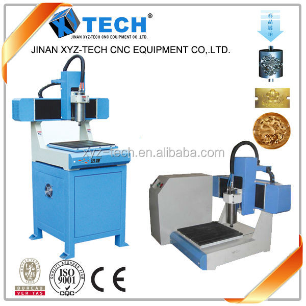 XJ3636 mini cnc router / 3d cnc router for small brand / keychain / crafts with CE