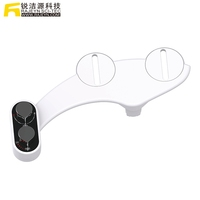 Non Electric Simple Lavatory Adjustable Water Pressure Clean Butt Toilet Seat Lady Bidet