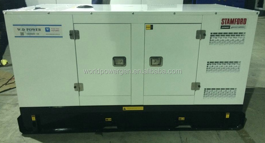 50Hz 3phase 30kw diesel power engine silent generator set
