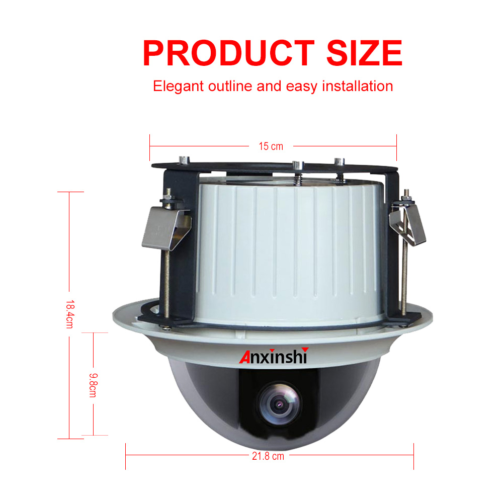 36x optical zoom sony IMX327 Starlight High Speed Dome embedded ip ptz Camera