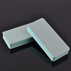 Factory Supply Double Side Manicure Tool Emery Board Grinding Block Sponge Nail Buffer